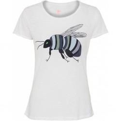 """T-shirt """"Bumblebee"""" Blå - Costamani"""