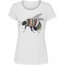 """T-shirt """"Bumblebee"""" Brændte farver - Costamani"""
