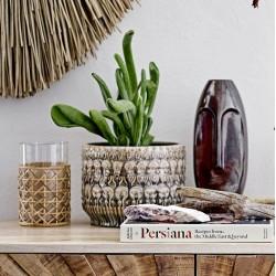 Vase m/ mønster multi farvet - Bloomingville