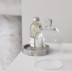Lav Glasklokke - Meraki H: 19,8 cm