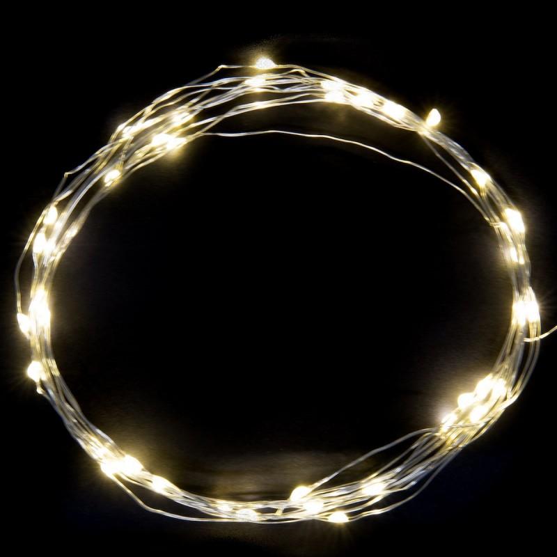 Lyskæde m/ 40 led lys - ib laursen