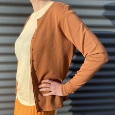 Cardigan gylden brun - Saint tropez