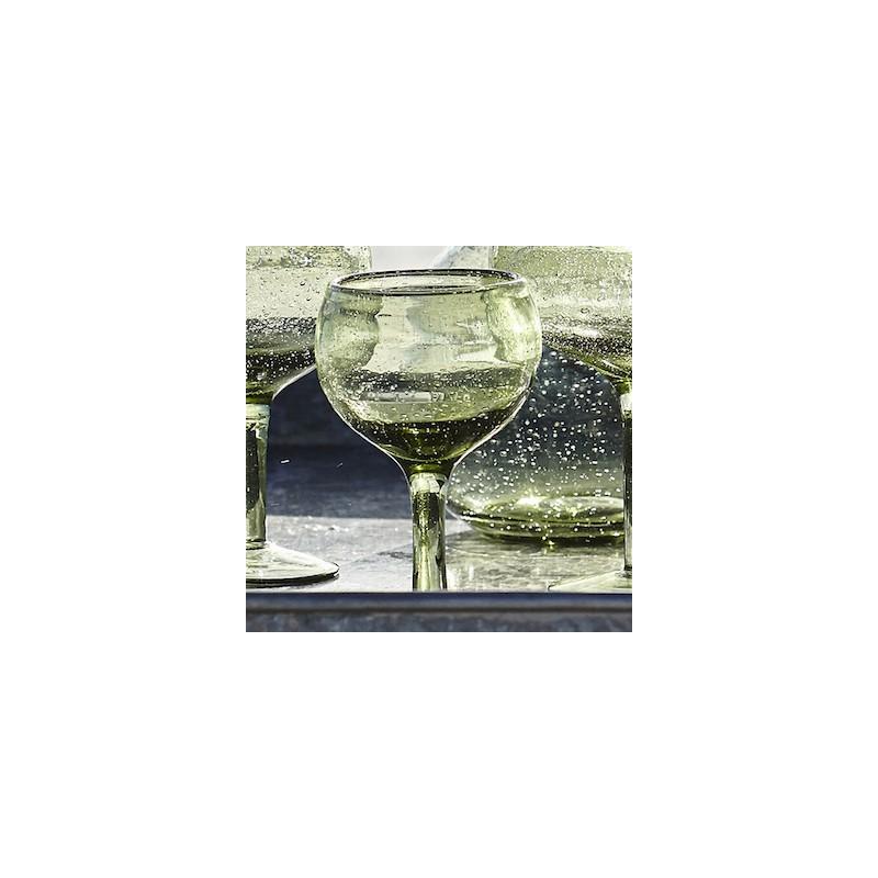 """Hvidvinsglas grøn - house doctor - """"universal"""""""