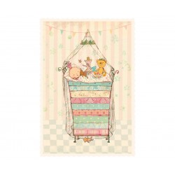"""Maileg - Enkelt kort """"Prinsesse på ærten"""""""