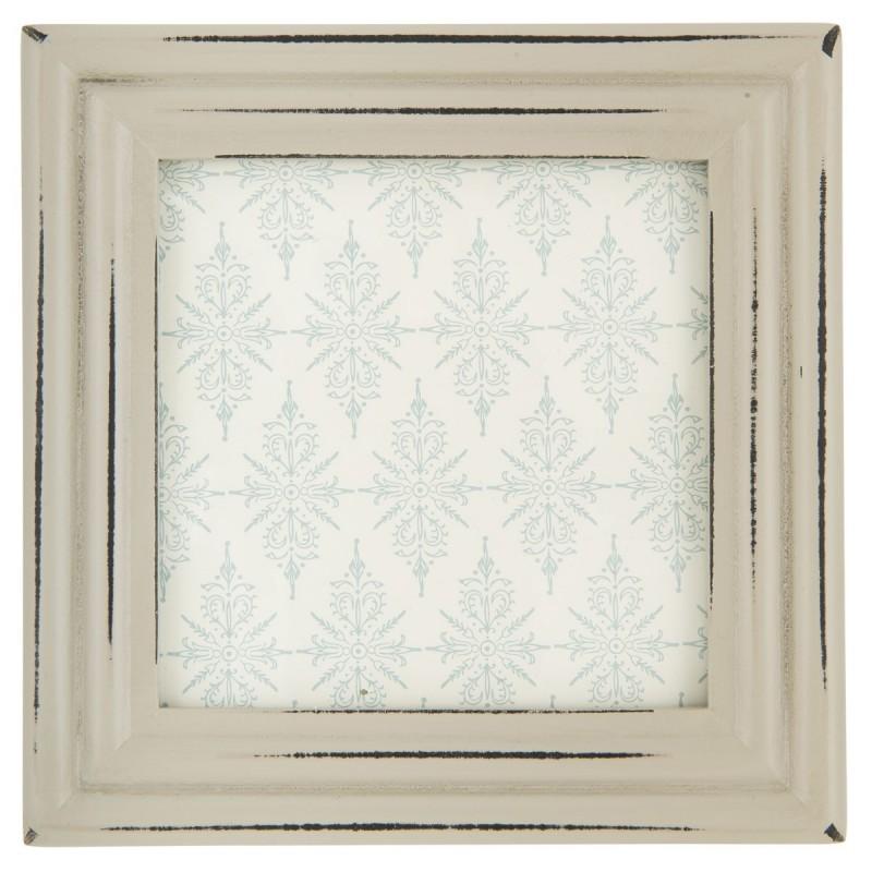 Ramme grå - ib laursen - foto 8,5x8,5 cm