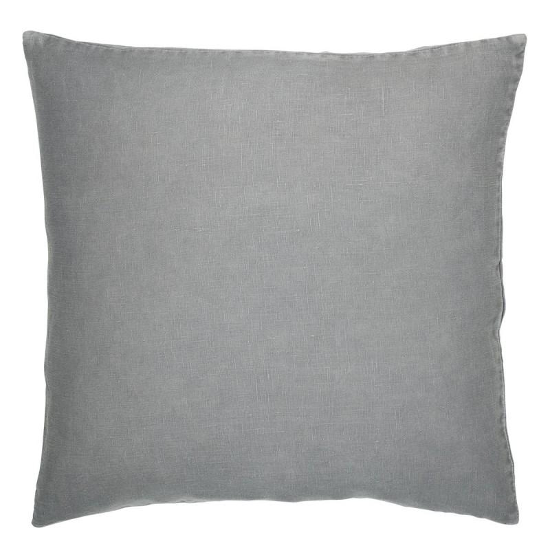 Pudebetræk i grå hør - ib laursen 50x50