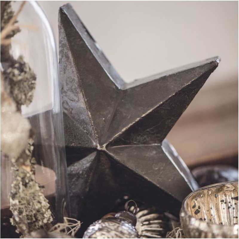 Stjerne i metal - ib laursen - sort