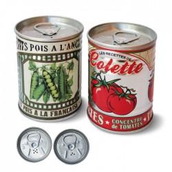 "Salt- og pebersæt ""Tomates et petits pois"""