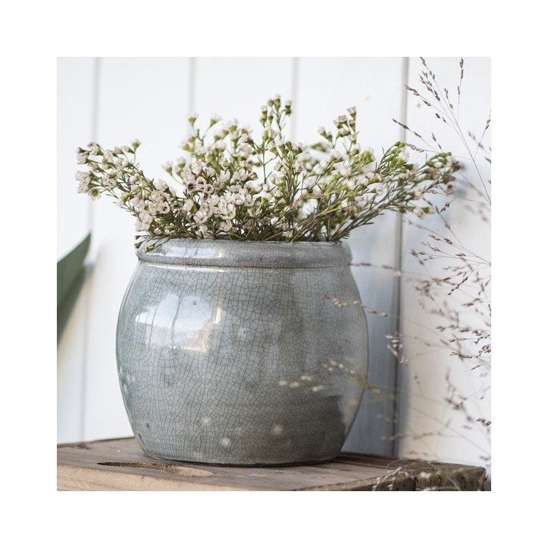 Skjuler i grå keramik - ib laursen