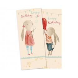 Servietter kanin Fødselsdag - Maileg